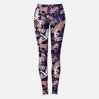 Miniature de image de Night in the jungle 2 Leggings, Live Heroes