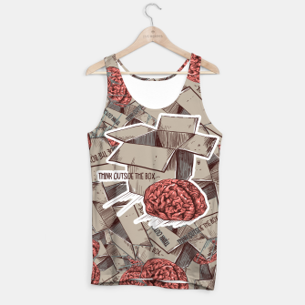 Think Outside The Box Tank Top Bild der Miniatur