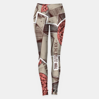 Think Outside The Box Leggings Bild der Miniatur