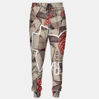 Think Outside The Box Sweatpants Bild der Miniatur