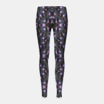 Thumbnail image of Metal Punch Girl's Leggings, Live Heroes