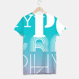 Thumbnail image of TYPOGRAPHY T-shirt, Live Heroes