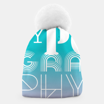 Thumbnail image of TYPOGRAPHY Beanie, Live Heroes