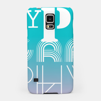 Thumbnail image of TYPOGRAPHY Samsung Case, Live Heroes