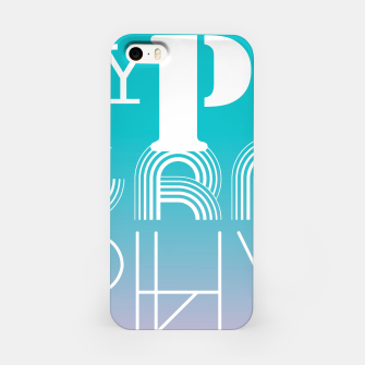 Thumbnail image of TYPOGRAPHY iPhone Case, Live Heroes