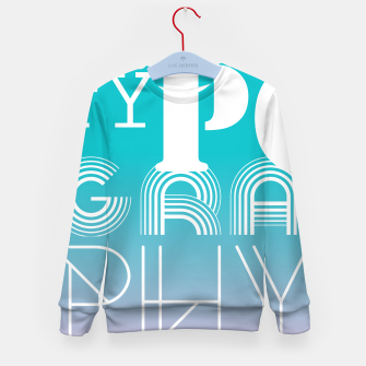 Thumbnail image of TYPOGRAPHY Kid's Sweater, Live Heroes