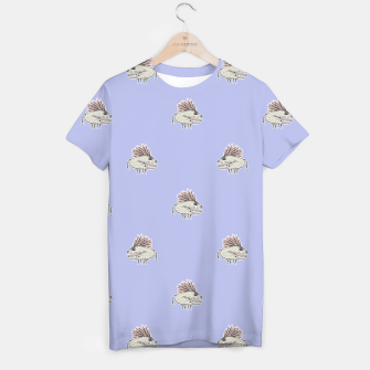 Thumbnail image of Monster Rats Hand Draw Illustration Pattern T-shirt, Live Heroes