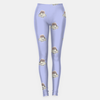 Thumbnail image of Monster Rats Hand Draw Illustration Pattern Leggings, Live Heroes