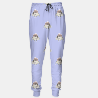 Thumbnail image of Monster Rats Hand Draw Illustration Pattern Sweatpants, Live Heroes