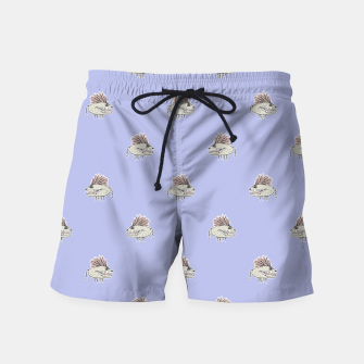 Thumbnail image of Monster Rats Hand Draw Illustration Pattern Swim Shorts, Live Heroes