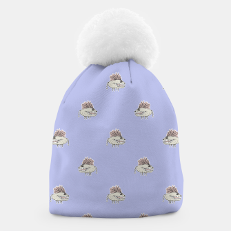 Thumbnail image of Monster Rats Hand Draw Illustration Pattern Beanie, Live Heroes
