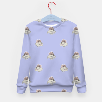 Thumbnail image of Monster Rats Hand Draw Illustration Pattern Kid's Sweater, Live Heroes