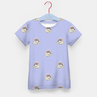 Thumbnail image of Monster Rats Hand Draw Illustration Pattern Kid's T-shirt, Live Heroes