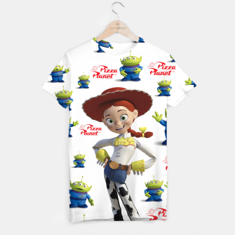 Thumbnail image of pizza planet toy story alien T-shirt, Live Heroes