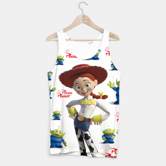 Thumbnail image of pizza planet toy story alien Tank Top, Live Heroes