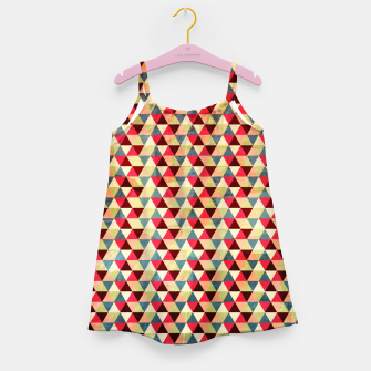 Thumbnail image of Triangle Pattern –  Girl's Dress, Live Heroes