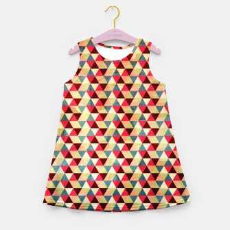 Thumbnail image of Triangle Pattern –  Girl's Summer Dress, Live Heroes