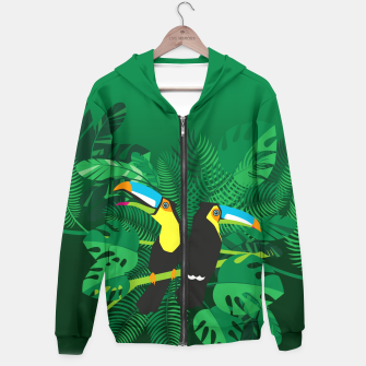 Tropical toucans –  Hoodie thumbnail image