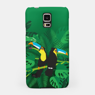Thumbnail image of Tropical toucans –  Samsung Case, Live Heroes