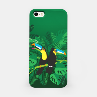 Thumbnail image of Tropical toucans –  iPhone Case, Live Heroes