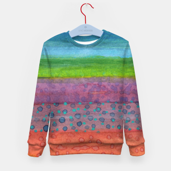 Miniatur Remains on the Landscape Kid's Sweater, Live Heroes