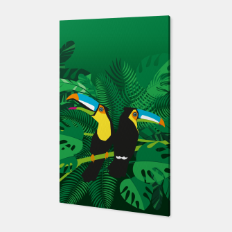 Thumbnail image of Tropical toucans –  Canvas, Live Heroes