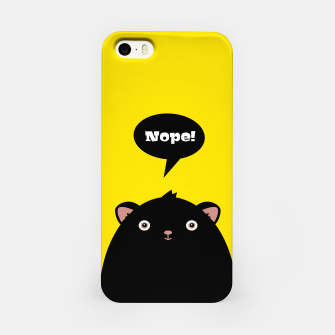 Nope monster –  iPhone Case thumbnail image