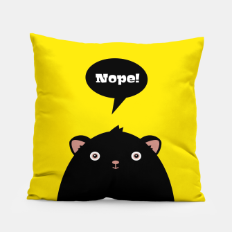 Nope monster –  Pillow thumbnail image