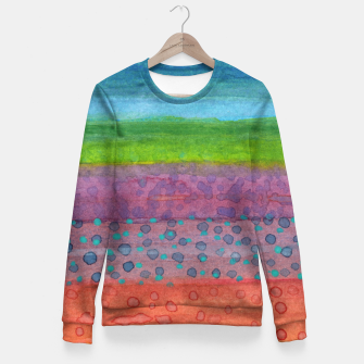 Miniatur Remains on the Landscape Fitted Waist Sweater, Live Heroes