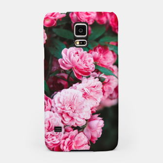 Miniatur Flowers grow out of dark moments Samsung Case, Live Heroes