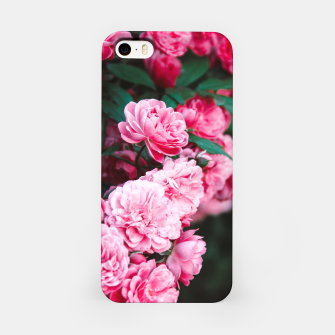 Miniatur Flowers grow out of dark moments iPhone Case, Live Heroes