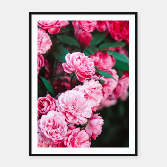 Miniatur Flowers grow out of dark moments Framed poster, Live Heroes