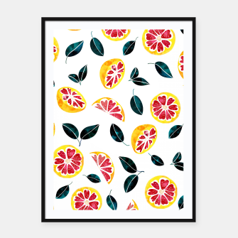 Miniaturka Fruit Crush Framed poster, Live Heroes