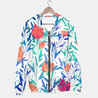 Thumbnail image of Vibrant Floral Hoodie, Live Heroes