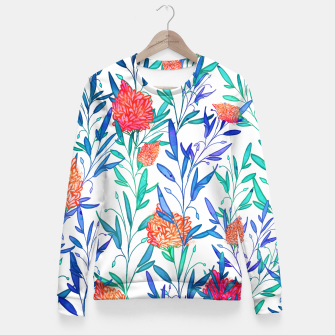 Thumbnail image of Vibrant Floral Fitted Waist Sweater, Live Heroes