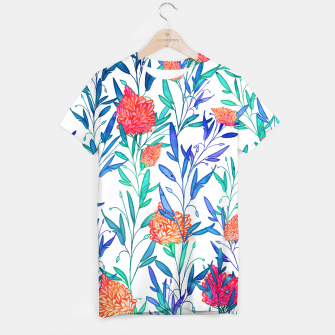 Thumbnail image of Vibrant Floral T-shirt, Live Heroes