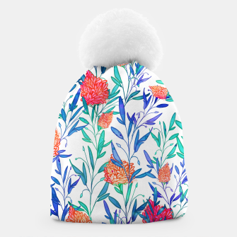 Thumbnail image of Vibrant Floral Beanie, Live Heroes