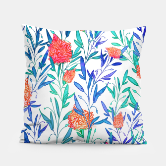 Thumbnail image of Vibrant Floral Pillow, Live Heroes