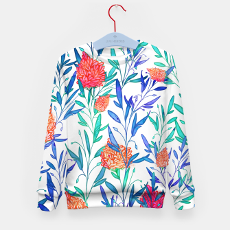 Thumbnail image of Vibrant Floral Kid's Sweater, Live Heroes