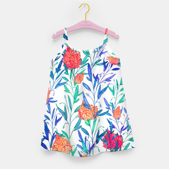 Thumbnail image of Vibrant Floral Girl's Dress, Live Heroes