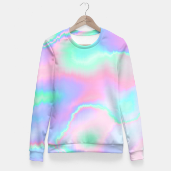 Thumbnail image of Holograph Fitted Waist Sweater, Live Heroes