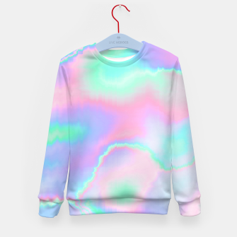 Thumbnail image of Holograph Kid's Sweater, Live Heroes