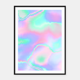 Thumbnail image of Holograph Framed poster, Live Heroes