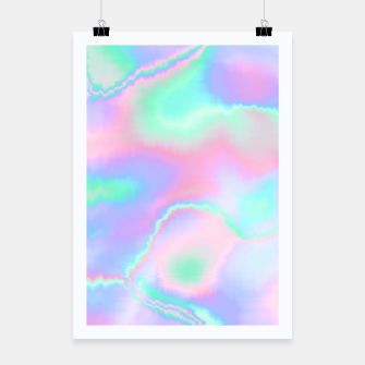 Thumbnail image of Holograph Poster, Live Heroes