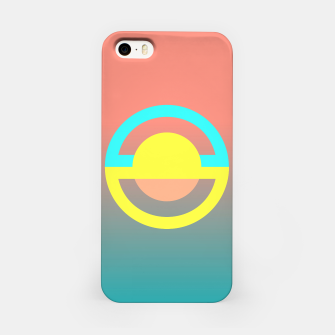 Thumbnail image of geometry is simple iPhone Case, Live Heroes