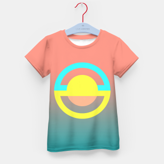 Thumbnail image of geometry is simple Kid's T-shirt, Live Heroes