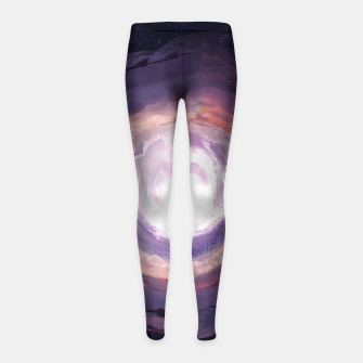 Sky Cloud Girl's Leggings thumbnail image