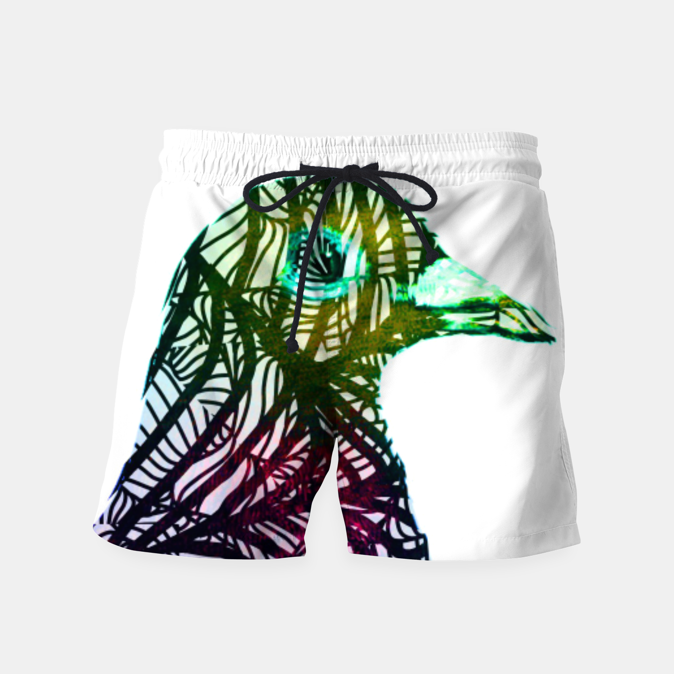 Image of brd Swim Shorts - Live Heroes