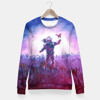 Thumbnail image of The Field Trip Fitted Waist Sweater, Live Heroes
