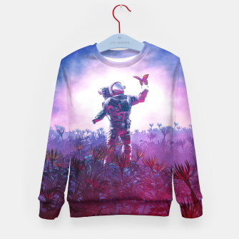 Thumbnail image of The Field Trip Kid's Sweater, Live Heroes